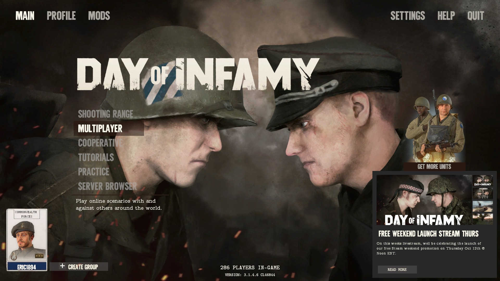 Day of Infamy Mod Picks! | New World Interactive